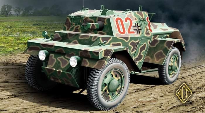 Light Armored car Lince ACE 72249 - 1/72 72249